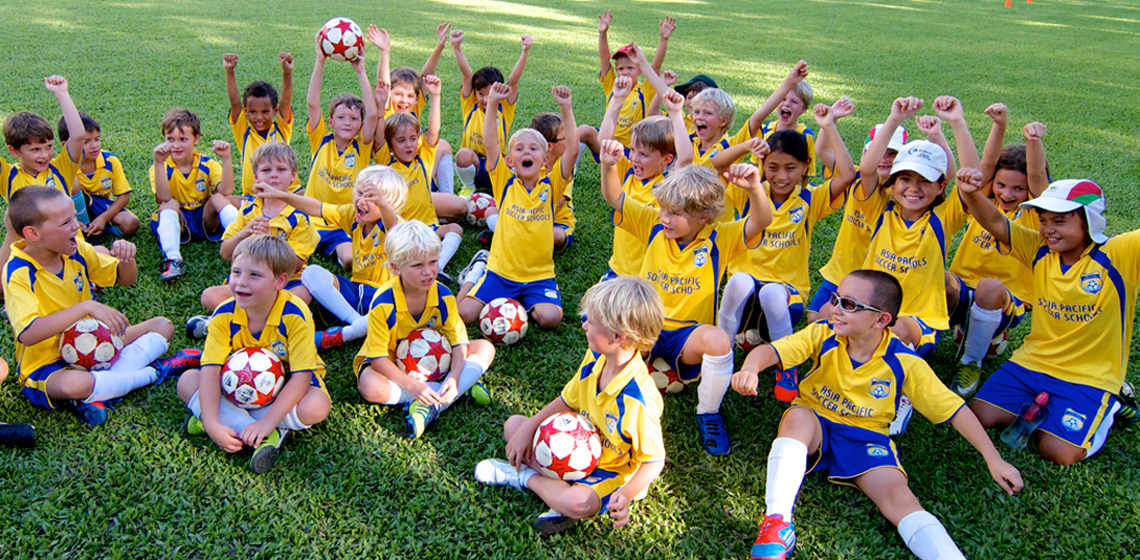 Football class in Hong Kong, Kowloon, New Territories and Lantau Island