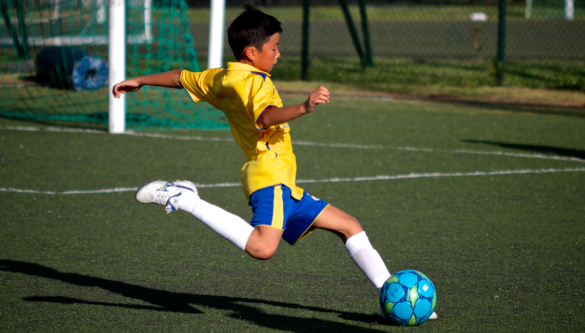 APSS Football Camp at Stanley Ho Sports Centre, Pok Fu Lam, Hong Kong